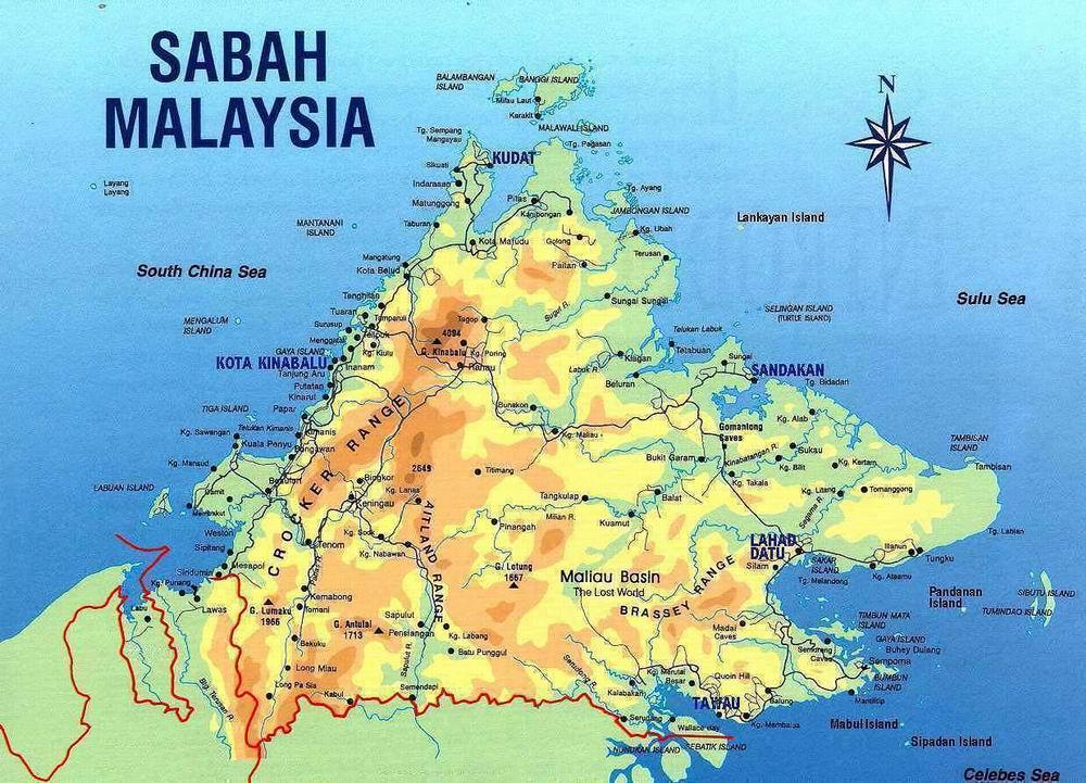 Где находится сабах