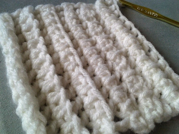 Crochet Is The Way How To Rolled Double Crochet Variations