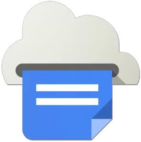 google cloud print logo