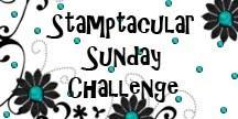 Stamptacular Sunday Challenge Blog