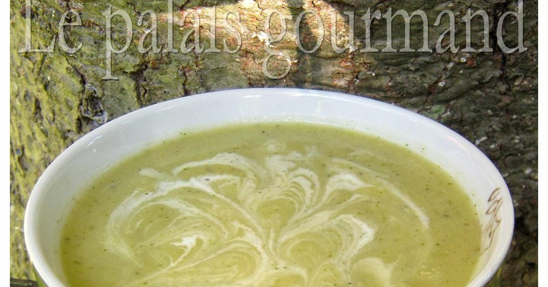 Crème de brocoli et de chou-fleur