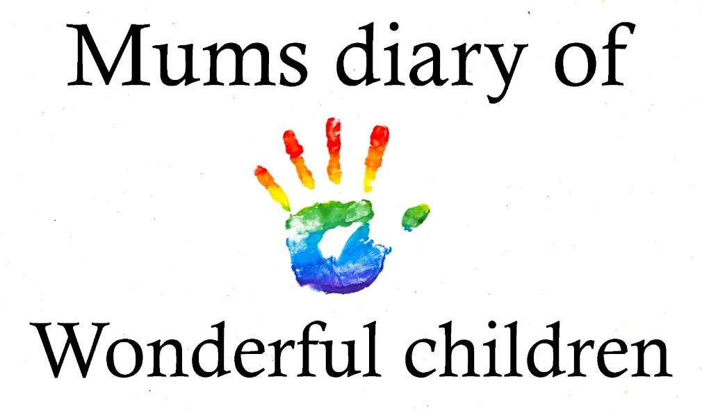Mums diary of 5 wonderful children