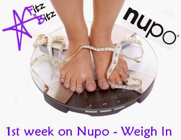 Wednesday Weigh In #2 - Nupo Journey