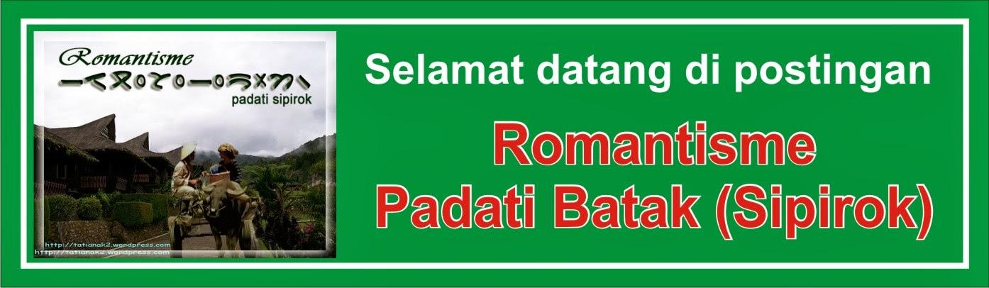 Romantisme Padati Batak (Sipirok)