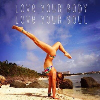 love yoga girl beach sand