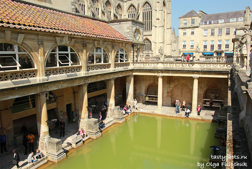 Roman Bath at UK