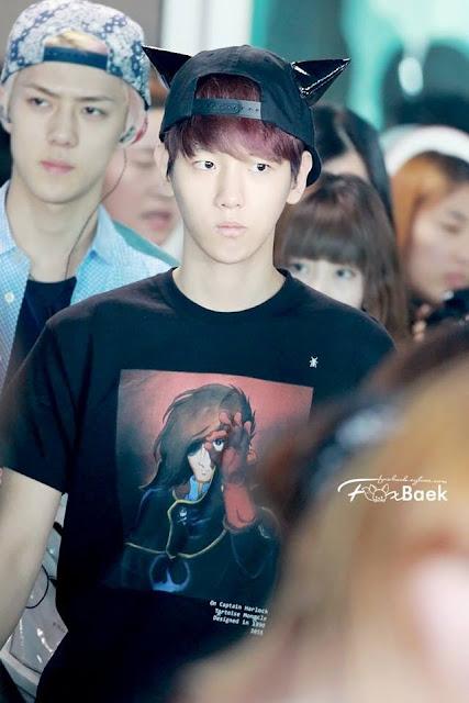 baek khyun SO CUTE I CAN'T.