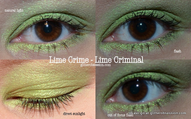 Lime Crime - Lime Criminal eye swatch