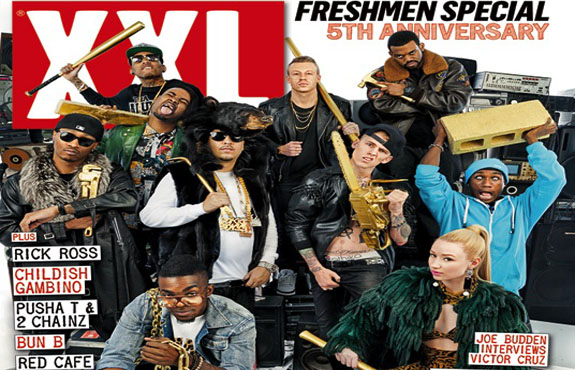 And so it begins  XXL releases the first XXL Freshmen 2012 cypher with    Xxl Freshman 2012