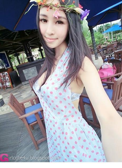 4 Liu Zhixi - Sanya-Very cute asian girl - girlcute4u.blogspot.com