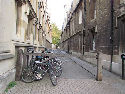 Parking de bicicletas en Oxford