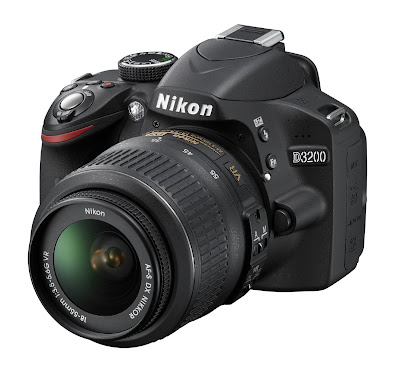 Nikon D3200 24.2 MP Black Body