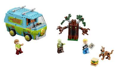 TOYS : JUGUETES - LEGO Scooby-Doo  75902 La Máquina del Misterio | The Mystery Machine  Producto Oficial 2015 | Piezas: 301 | Edad: 6-12 años  Comprar en Amazon
