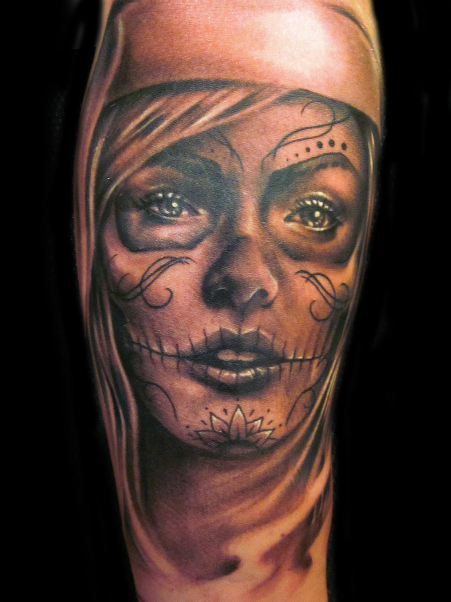 gallery funny game day of the dead tattoo designs. Black Bedroom Furniture Sets. Home Design Ideas