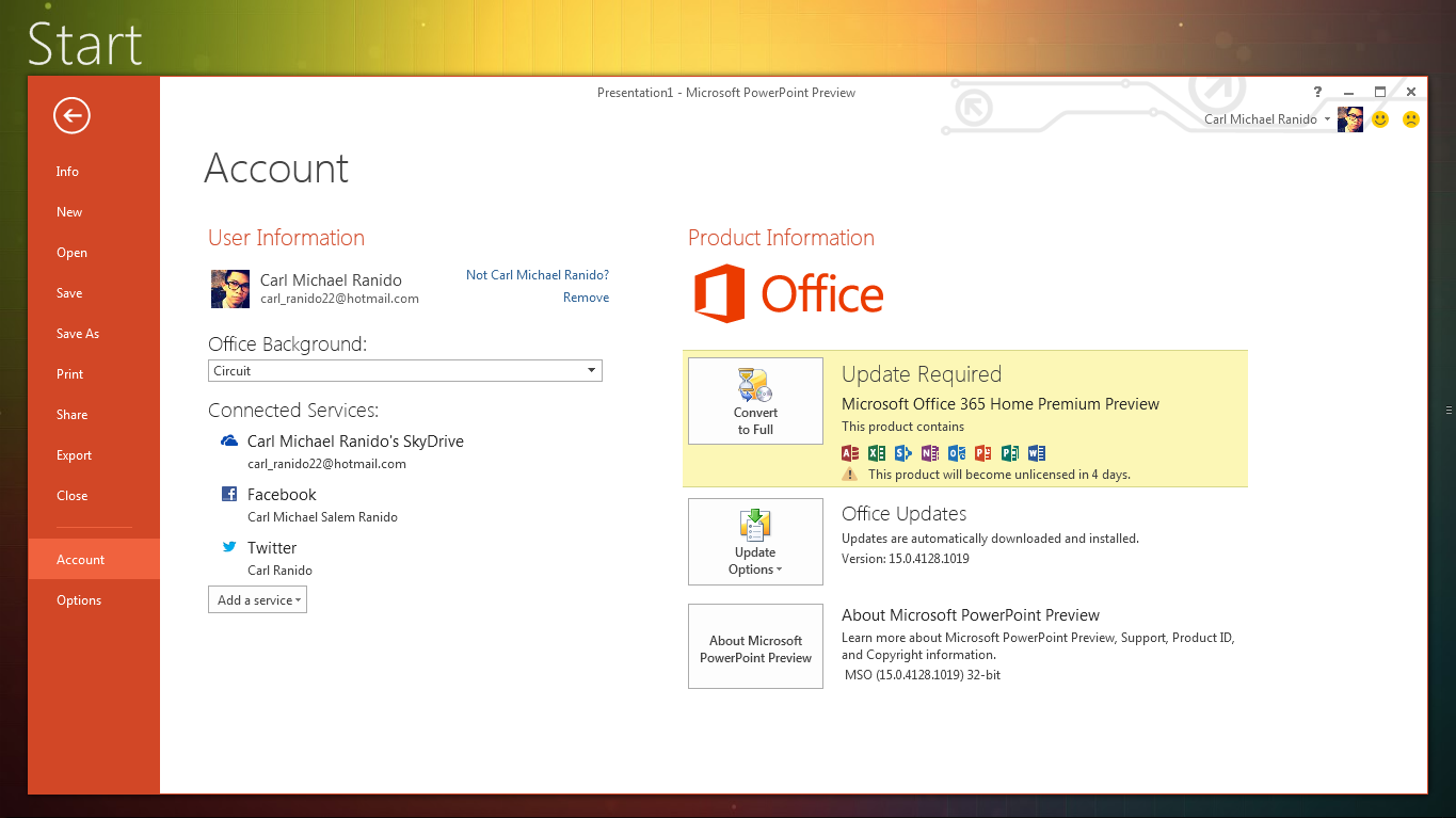 My Experience With Microsoft Office Word 2007