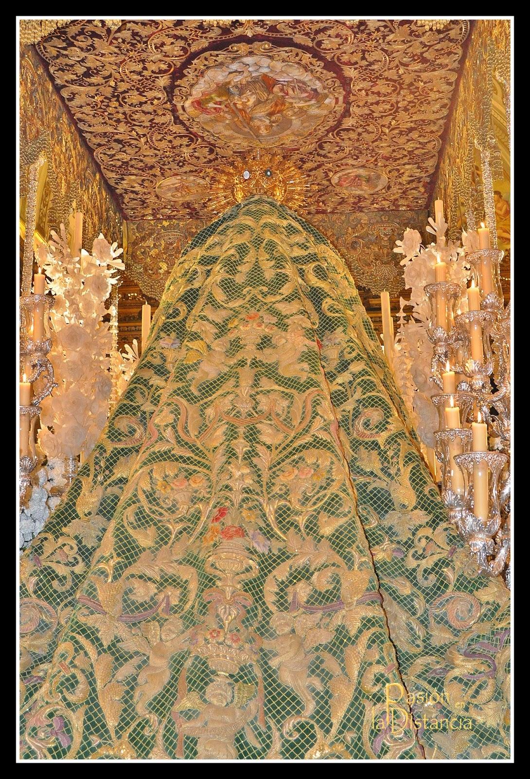 Mantos 50 Aniversario Coronación Macarena, sevilla mayo 2014