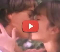 Propaganda do Chocolate Laka (Lacta) que apresenta o pedido de um beijo de uma garota a um garoto.