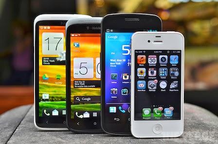 smartphone lineup image
