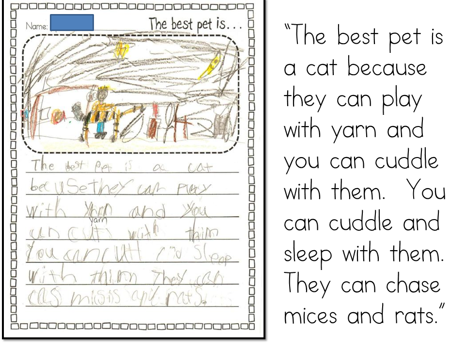 Examples of persuasive writing for children