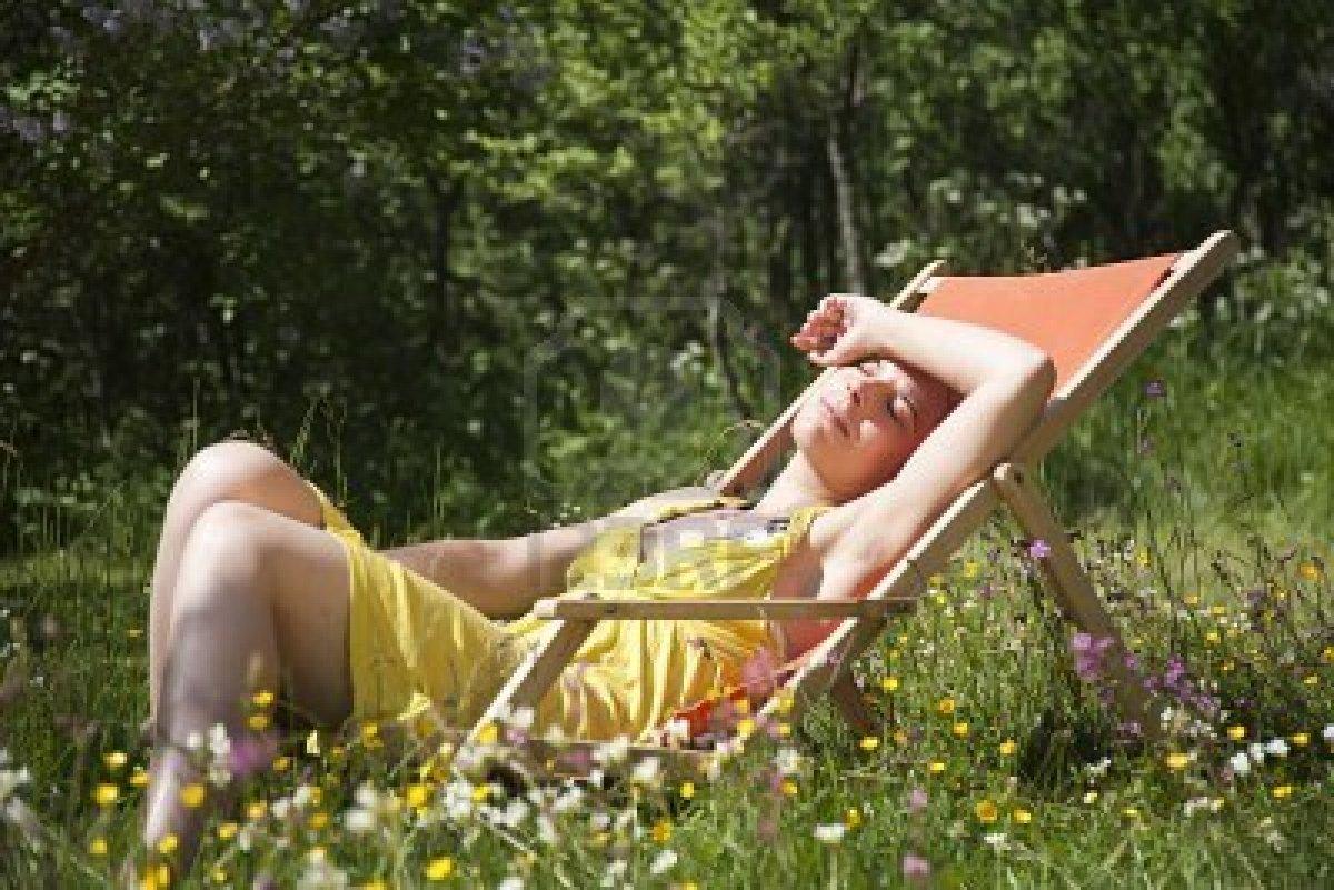 Passie bloempjes april 2012 for Ligstoel buiten