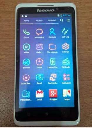 Smartphone Lenovo S890
