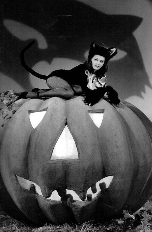 1940s Halloween #vintage #halloween #pumpkin #1940s