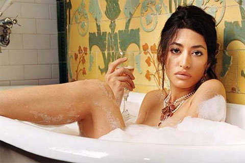Provocative on GQ,Model Wafah Dufour,Osama bin Laden niece,