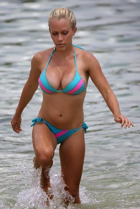 Blue bikini kendra wore xxx photo