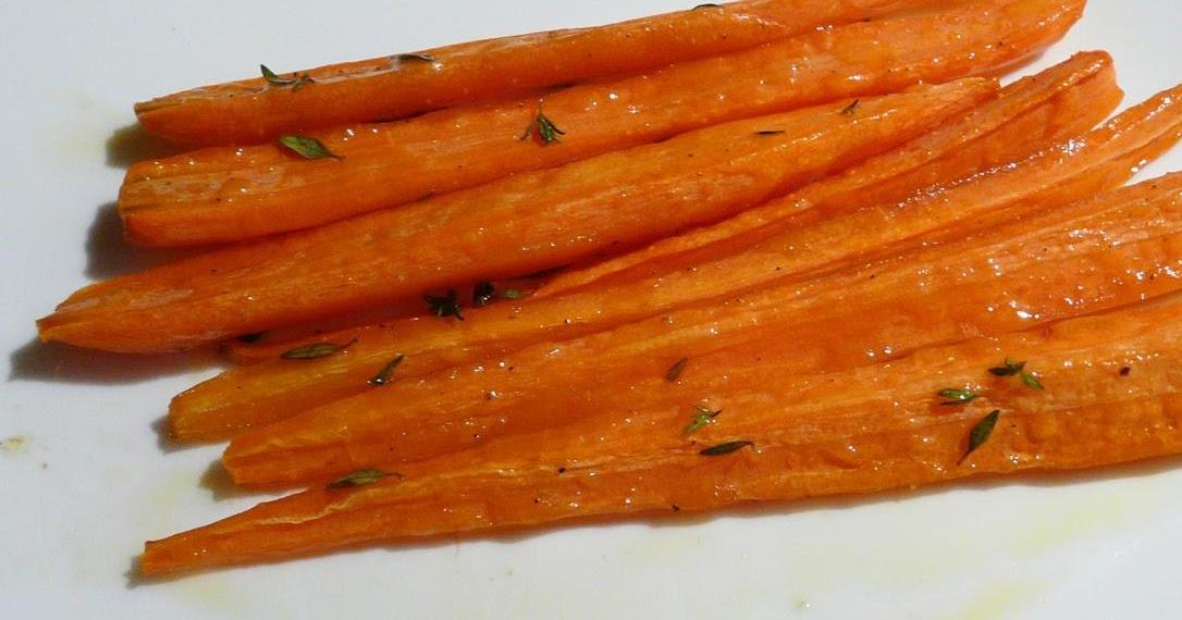Karotten mit Honig geröstet