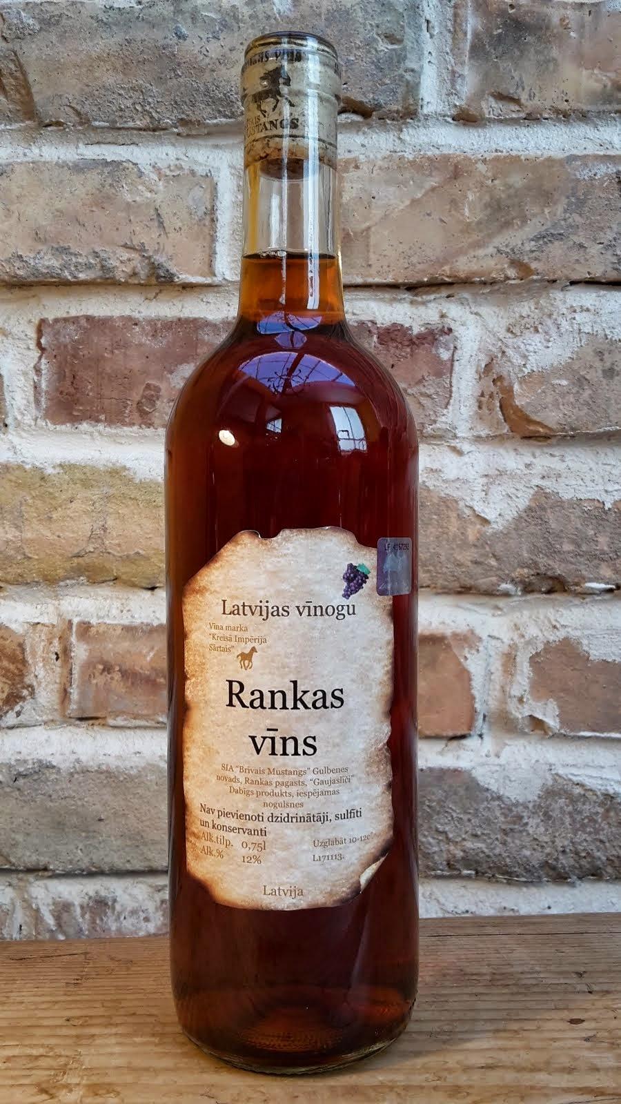 Latvijas vīnogu vīns 0.75 l