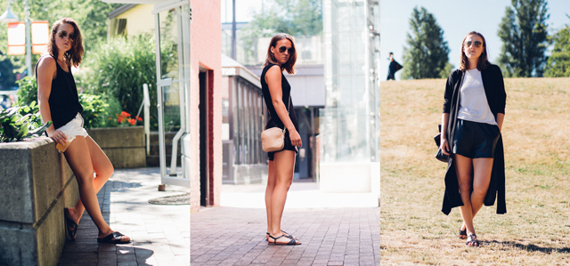 August outfits by In My Dreams, Canadian style and fashion blogger based in Vancouver, BC.