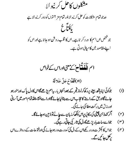 Al-Fattah: Allah Name Benefits | Asma ul Husna K Amal