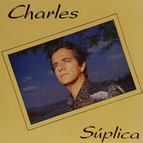 "Capa do LP ""Súplica"" do cantor Charles Meira"