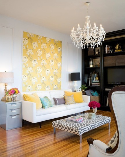 Lush Fab Glam Blogazine: Decorating Ideas: Adding Color To Your ...