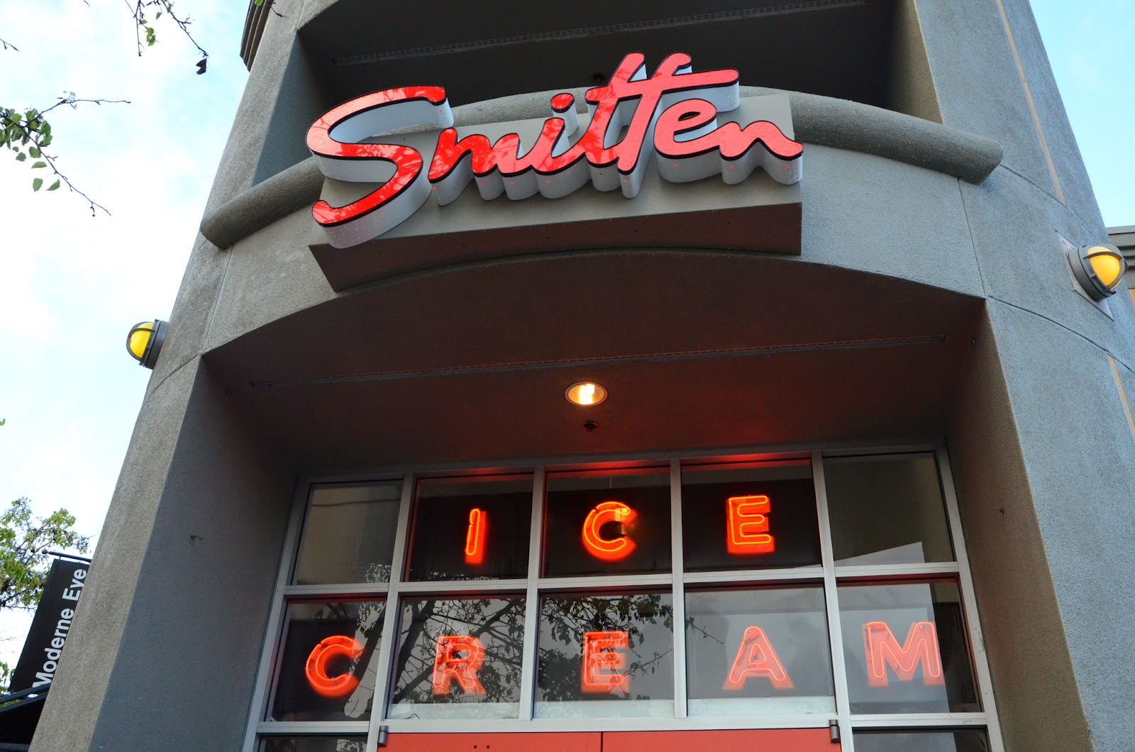 Smitten Ice Cream Rockridge our oakland: signs: smitten ice cream