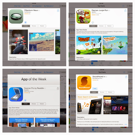 iOS Applications gone FREE for the start of 2014