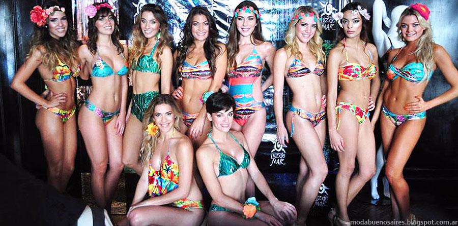 Bikinis Luz de Mar verano 2015. Moda verano 2015 bikinis.