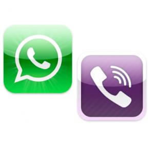 whatsapp and viber