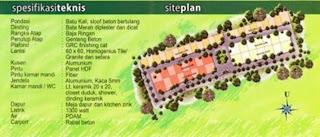 Siteplan dan Spesifikasi