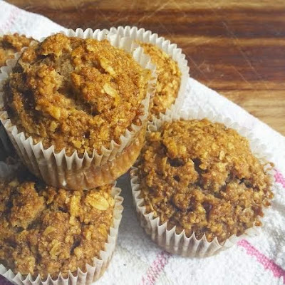 Vegan Banana Ginger Muffins