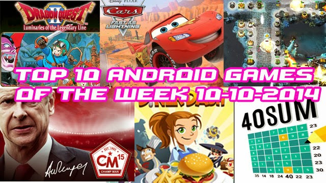 TOP 10 NEW ANDROID GAMES OF THE WEEK - 10th October 2014