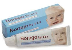 borago skorv biverkningar