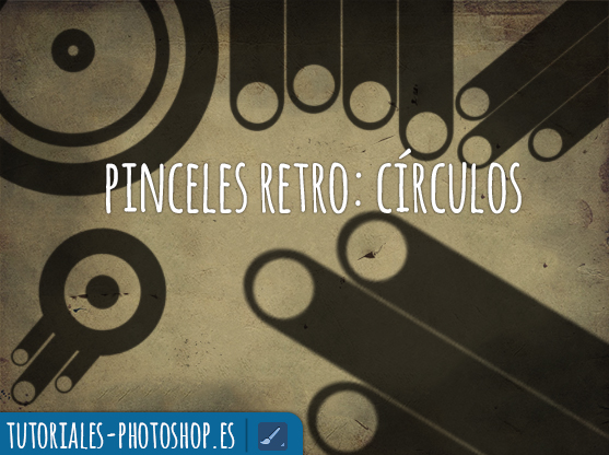 pinceles retro photoshop circulos