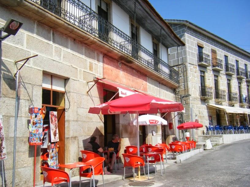 Café Central em Alcafache