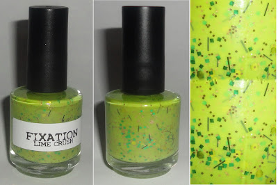 fixation lime crush nail polish haul and swatch