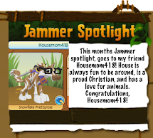 Monthly Jammer Spotlight - August!