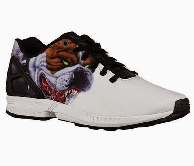 scarpe tossicodipendente: adidas originali zx flusso
