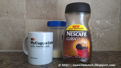 Coffee with Sweetened Condensed Milk via http://munchimunch.blogspot.com/