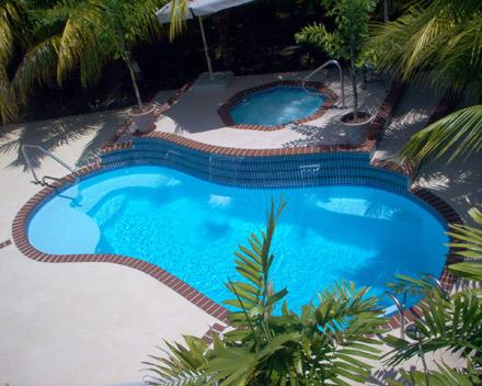 Modelo de piscinas
