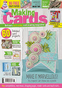CURRENTLY PUBLISHED ON THE COVER OF THE JUNE ISSUE OF MAKING CARDS MAGAZINE